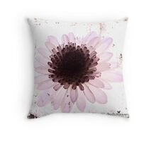 Floral virtue Throw Pillow