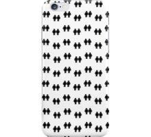 Two men holding hands iPhone Case/Skin