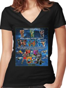 Anorak's Invitation - Ready Player One (ULTIMATE FANBOY EDITION) Women's Fitted V-Neck T-Shirt