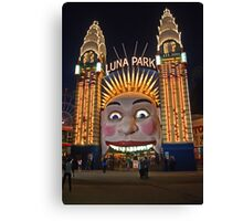 Old King Cole Welcome to Luna Park Canvas Print