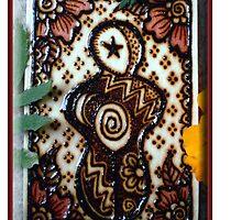 Henna Goddess by Cynthia McDonald by StarlitSkiesArt