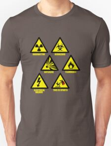 Warning Signs Unisex T-Shirt