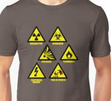 Warning Signs Unisex T-Shirt