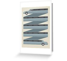 Stretched Out Limo Greeting Card