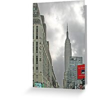 NYC-Empire State Greeting Card