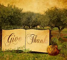 Give Thanks at Thanksgiving by Sarah Vernon
