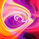 Twirl with Purple & Yellow by heidiannemorris