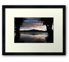 Gothic Mountain Framed Print