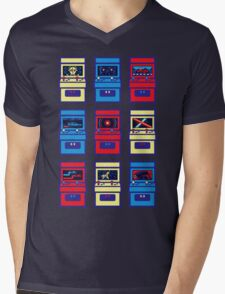 SCI-FI ARCADE Mens V-Neck T-Shirt