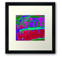 Fantastic Digital Pattern Photo Framed Print