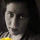 Yellow Morning Rose by David Rozansky