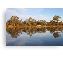 River Murray Reflections Canvas Print