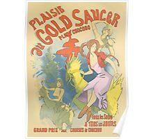 Plaisir au Gold Saucer Poster