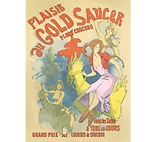Plaisir au Gold Saucer Photographic Print