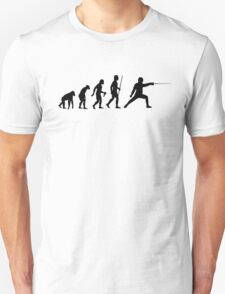 Fencing Evolution Shirt T-Shirt
