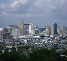 Downtown Cincinnati by Sivle