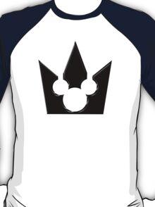 Kingdom Hearts Mickey Crown Poster T-Shirt