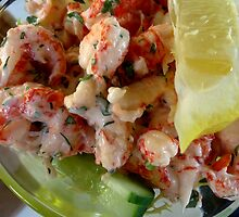 Crayfish Salad in the Sun by BevsDigitalArt