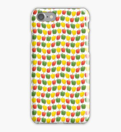 Pepper paradise pattern - wavy iPhone Case/Skin