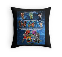 Anorak's Invitation (Version 2) - Ready Player One Throw Pillow