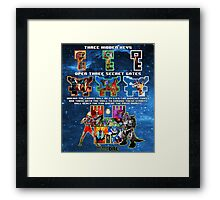 Anorak's Invitation (Version 2) - Ready Player One Framed Print