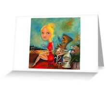 Desire Greeting Card