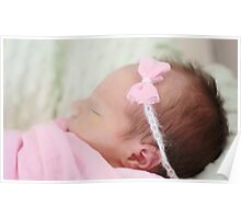 Welcome baby Tilly Poster