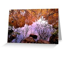 Winter Water Garden Greeting Card