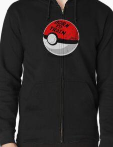 Full Metal Trainer- Pokemon Shirt Zipped Hoodie