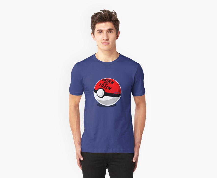 Full Metal Trainer- Pokemon Shirt by spacemonkeydr