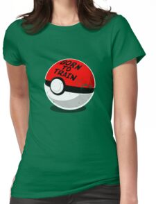 Full Metal Trainer- Pokemon Shirt Womens Fitted T-Shirt