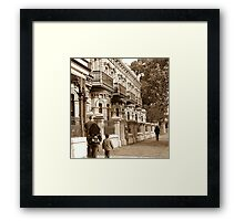 The BotanicTerraces, North Terrace Framed Print