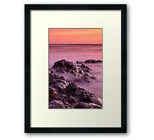 Marsden Bay Framed Print
