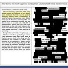 Erasure poetry experiment #1 with Alice Munro by msdebbie