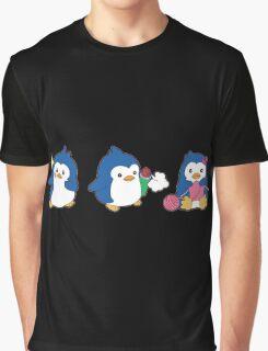Mawaru Penguins Trio Graphic T-Shirt