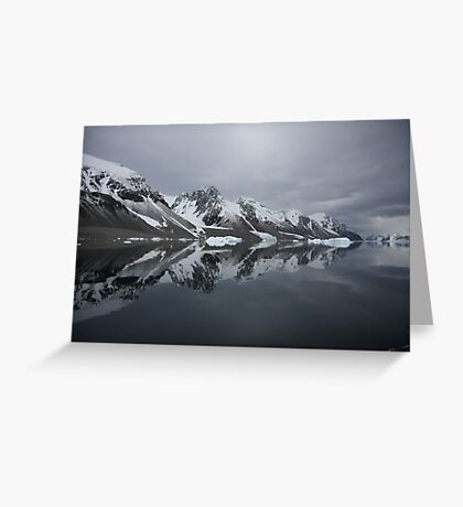 Unique Reflections Greeting Card
