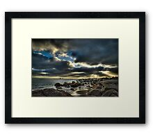 Port Elliot Sunrise - HDR Framed Print