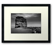 Marsden Rock Framed Print
