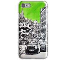Splash Cities - London 03 - Long Acre iPhone Case/Skin