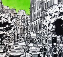 Splash Cities - London 03 - Long Acre Sticker