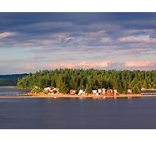 Mid-Summer's Eve Look from Larson's Landing Photographic Print