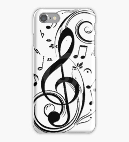 Treble Clef iPhone Case/Skin