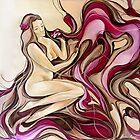 Frangipani Darling Heart by Leni Kae
