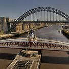 Newcastle Skyline by Great North Views