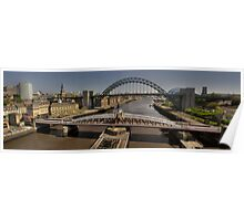 Newcastle Skyline Poster