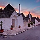 Trulli at Sunrise - Puglia Italy by David Lewins LRPS