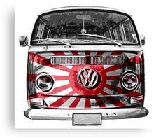 JAPAN VW van Canvas Print