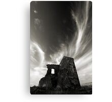 Stone of old Highfield Canvas Print