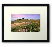 Grosnez Castle - Jersey C.I Framed Print