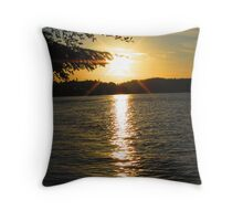 Shimmering Suv of the Sound Throw Pillow
